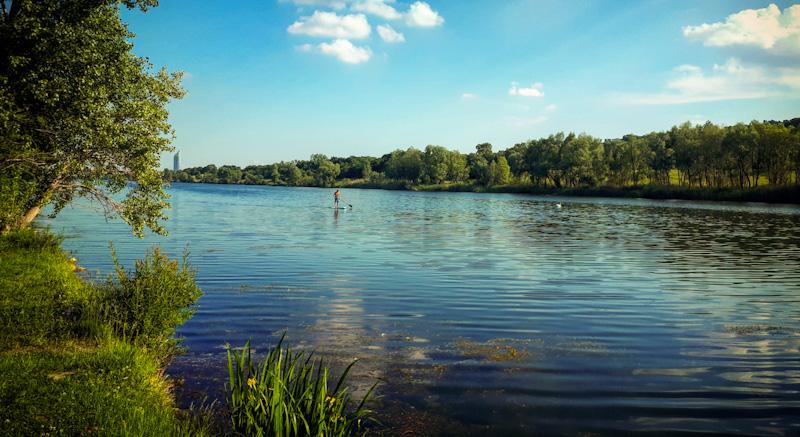 Nad brzegiem Dunaju- Dunaj