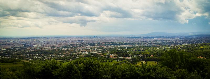 Widok z góry Kahlenberg