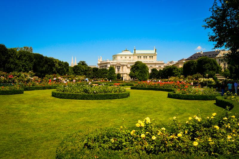 Hofburg -ogrody