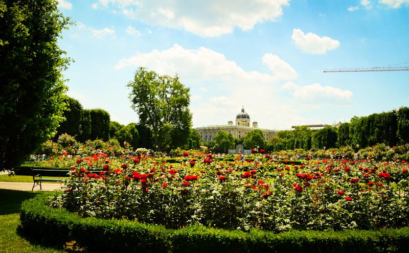 Hofburg- ogrody