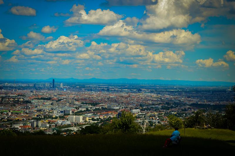Widok na Wiedeń