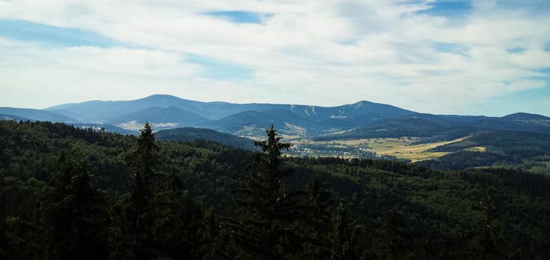 Widok z gory Trojak