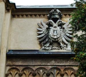 zamek Laxenburg , herb