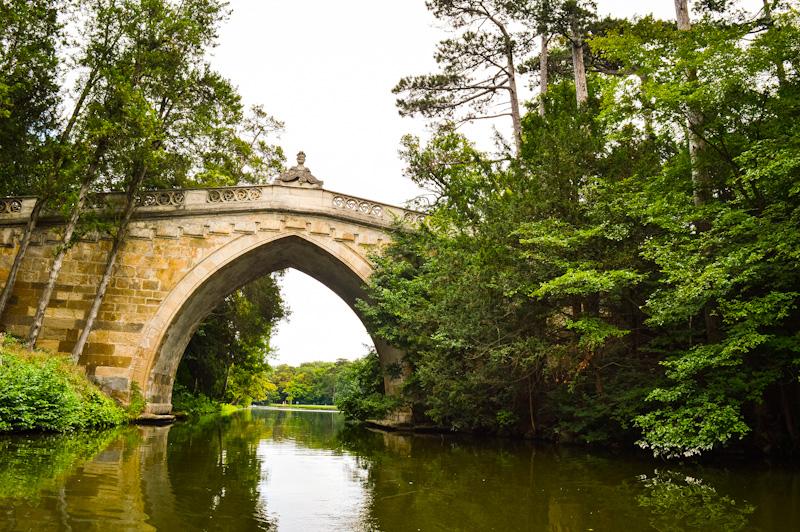Most Łączący z zamkiem .