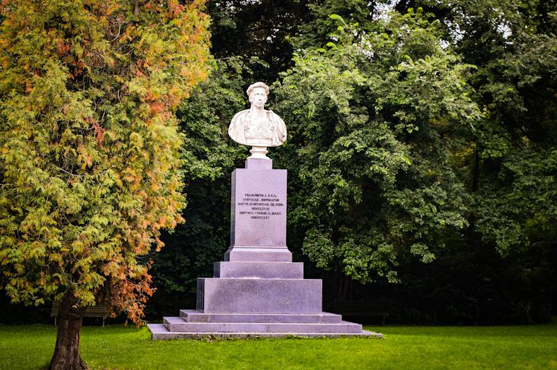 Marmurowe popiersie cesarza Franz I