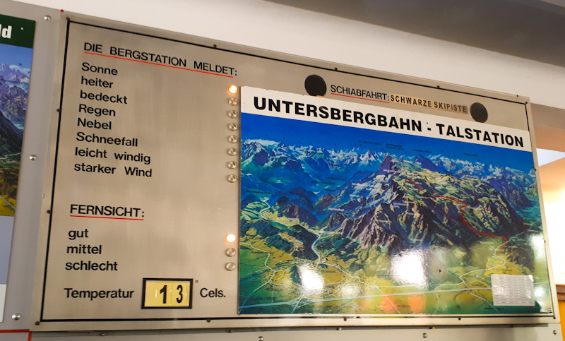 Stacja na gore ...Untersbergbahn
