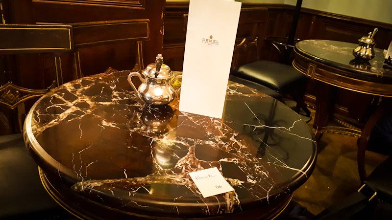 Kawiarnia w Wiedniu Demel