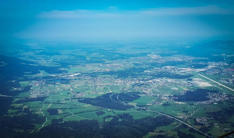 Widok na miasto Salzburg