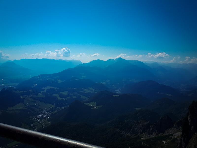 Widok z góry Untersberg