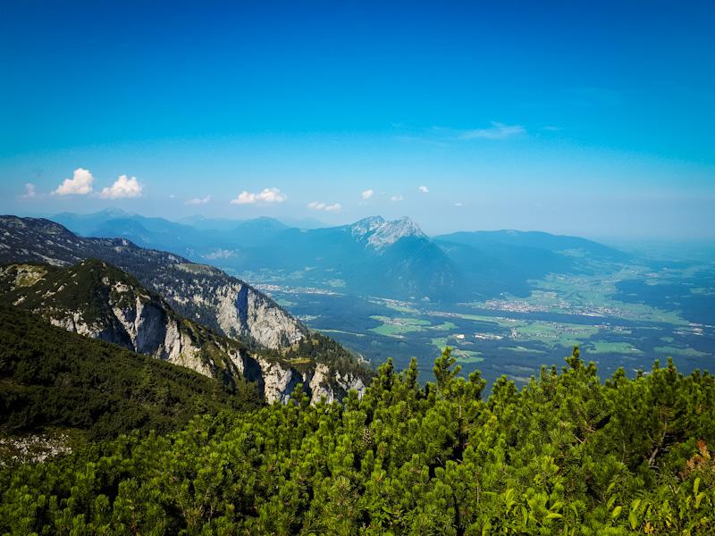 Widok z gory Untersberg