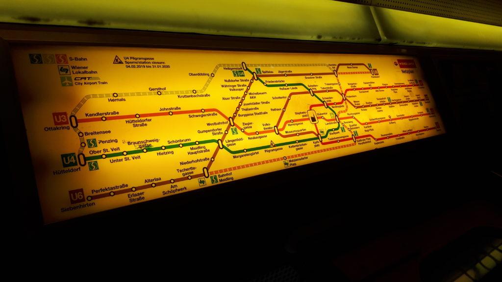 Przykladowa mapaka z kazdego metra