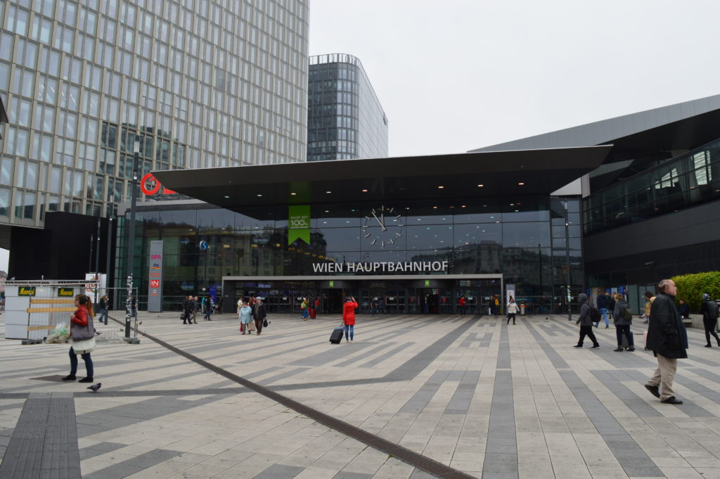 Dworzec główny Wiedeń