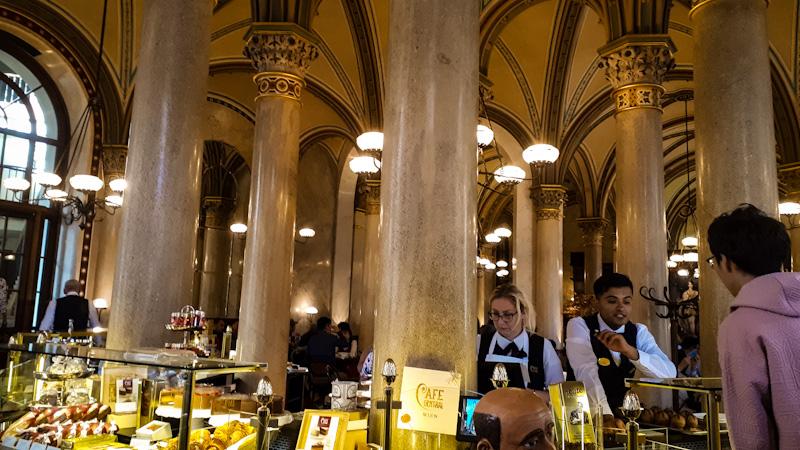 Cafe Central ,wiedeń