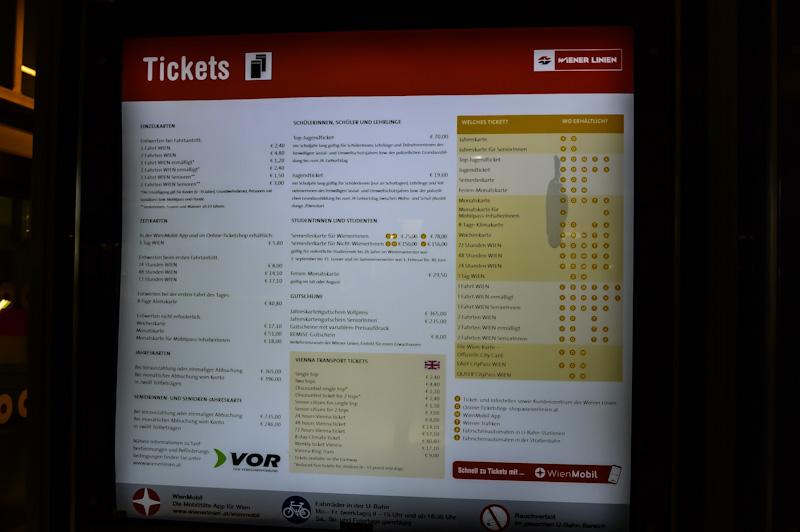 Informacja o biletach .