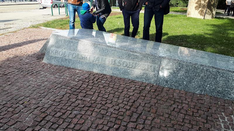 Pomnik dla Jana III Sobieskiego , odsiecz wiedenska