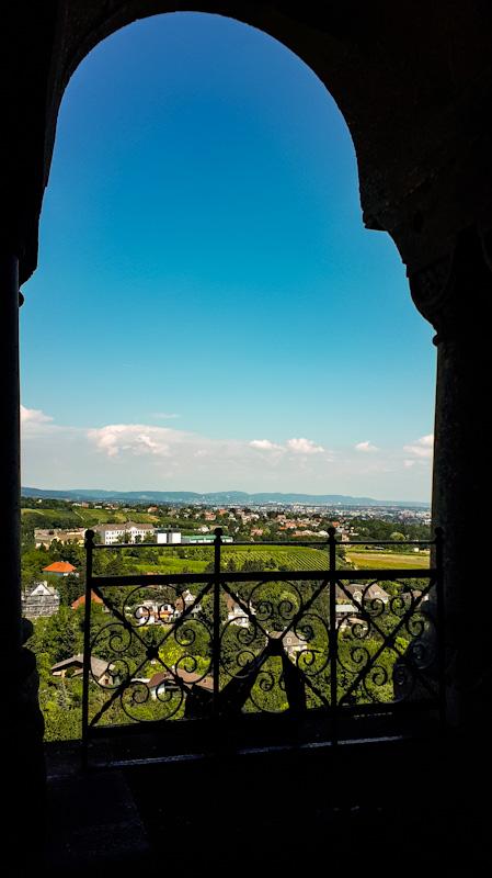 Widok z zamku na Wiedeń