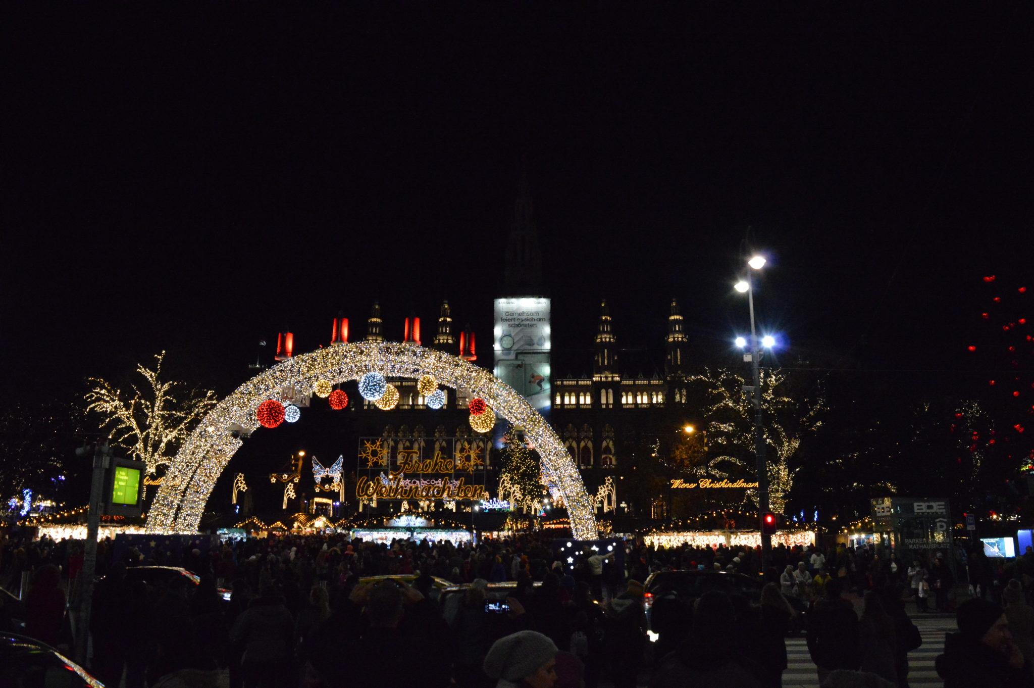 Weihnachtsmarkt , Wiener Rathaus