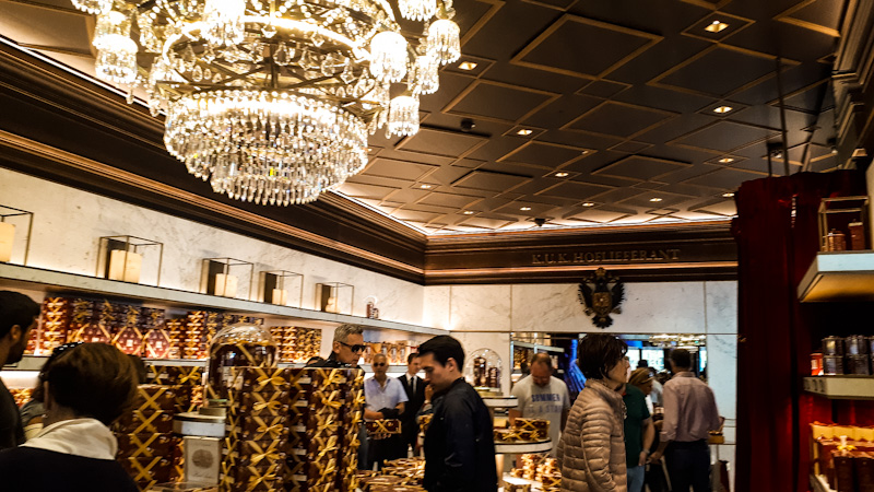 Sacher sklep , Wiedeń