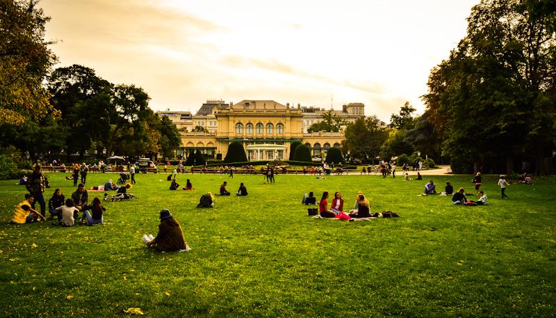 Stadpark ,Wiedeń