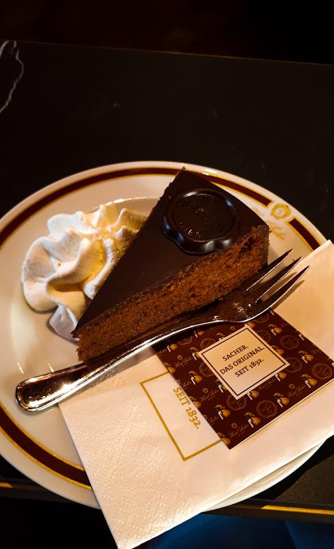 Orginalny Sacher Torte , Wieden