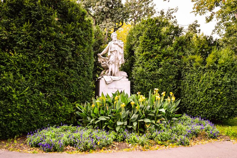 Pomnik Hans Makart , Stadpark Wien