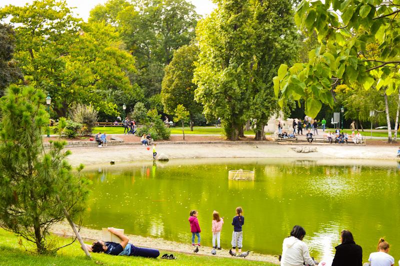 Jeziorko Stadpark , Wiedeń