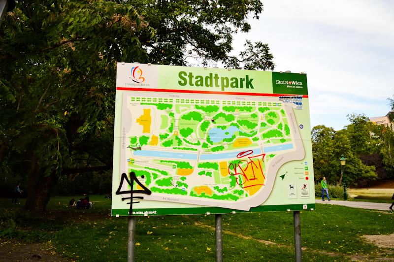 Plan parku , Stadpark