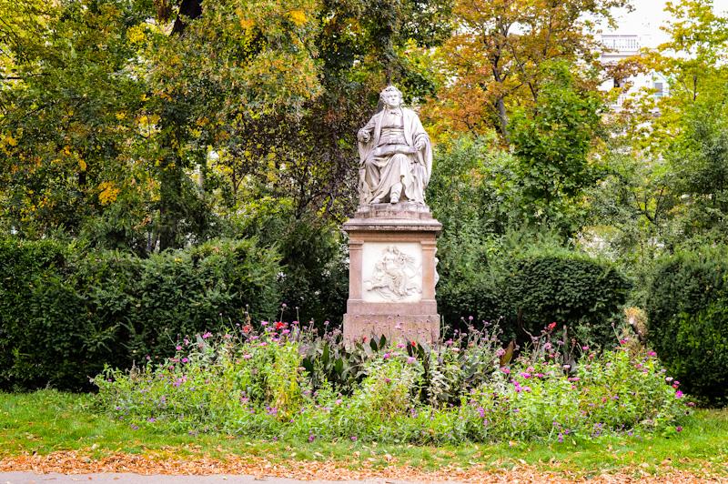 Pomnik Franz Schubert - Stadpark Wien