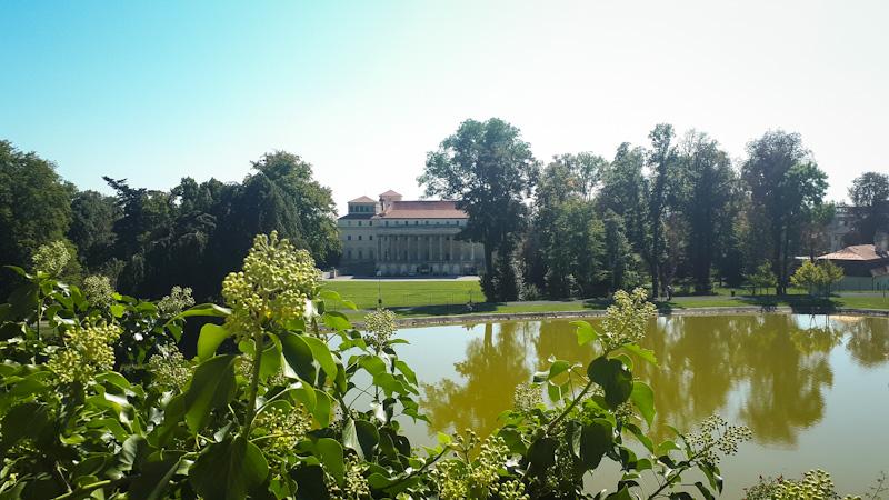 Park za zamkiem Esterhazy