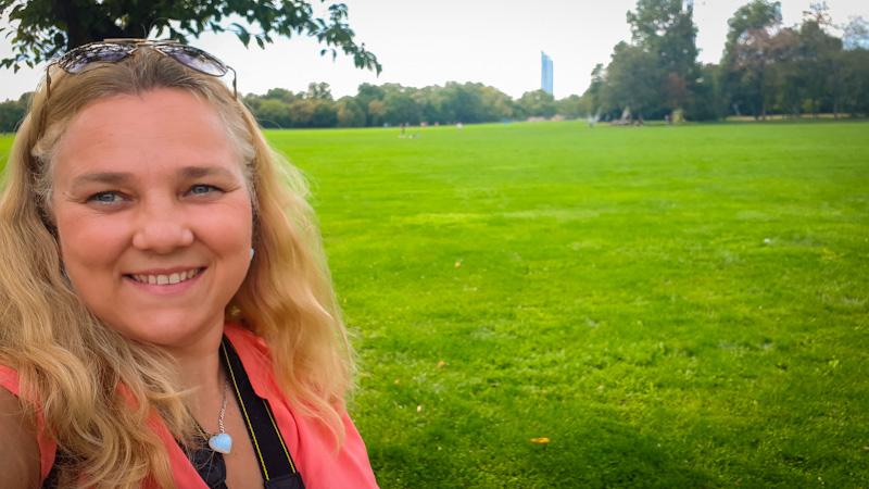 Polana w parku